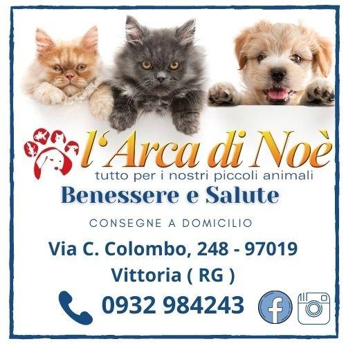 """""""L' Arca di Noè """" - Pet Shop - Consegna a domicilio - Via C. Colombo, 248 - 97019 Vittoria (RG)"""